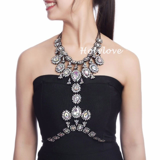 d53f78f5e Holylove 5 Colors Body Jewelry with Earrings Set Women Novelty Body Chain 1  PC with Gift Box