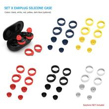 Earbuds Cover Earplug Protective Cover Soft Silicone Earpiece Replacement for Samsung Galaxy Buds Skin Bluetooth Earphone Access 1 pairs silicone replacement ear buds tips for samsung galaxy buds rm 170 earphone replacement earpads eargels