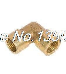 25pcs 1/8 BSP Female Elbow Connection Pipe Brass Coupler Adapter25pcs 1/8 BSP Female Elbow Connection Pipe Brass Coupler Adapter
