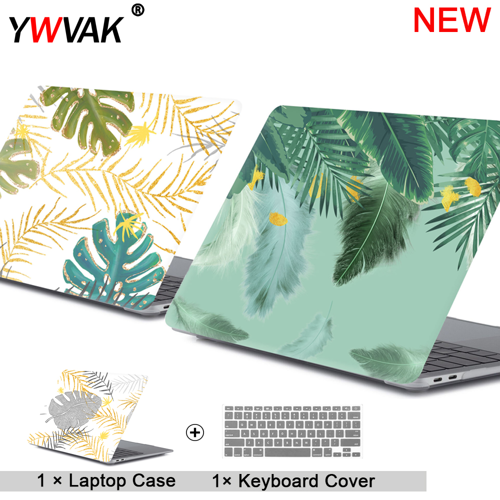 2019 new Laptop Case For Apple MacBook Air Pro Retina 11 12 13 15 for mac book Pro 13.3 15.4 inch with Touch Bar + Keyboard cove(China)