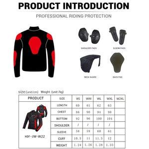 Image 5 - BENKIA Women Motorcycle Jacket Protective Gear Breathable Motorcycle Racing Jackets Moto Jacket Moto Femme S 2XL SIZE