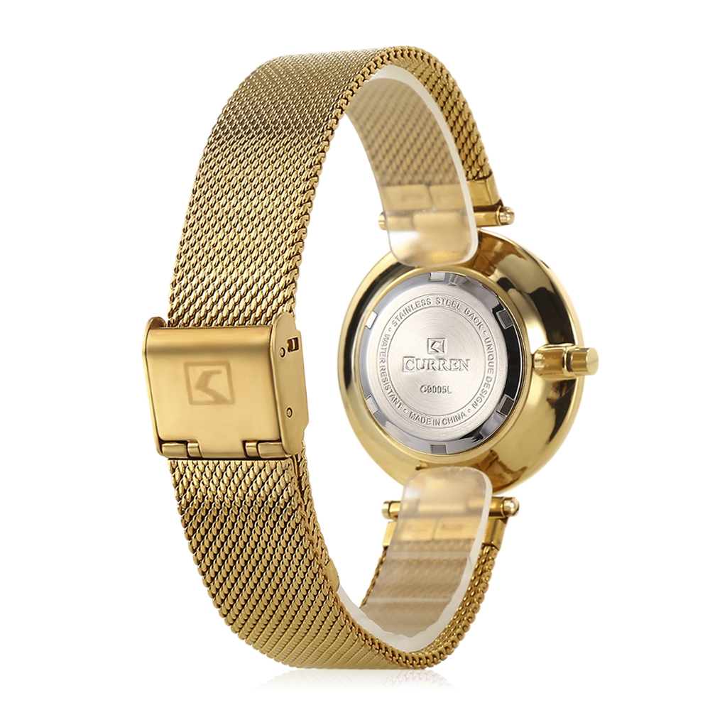 CURREN 9005 Luxury Women Watch Famous Brands Gold Fashion Design Bracelet Watches Ladies Women Wrist Watches Relogio Femininos wholesale drop shipping (21)