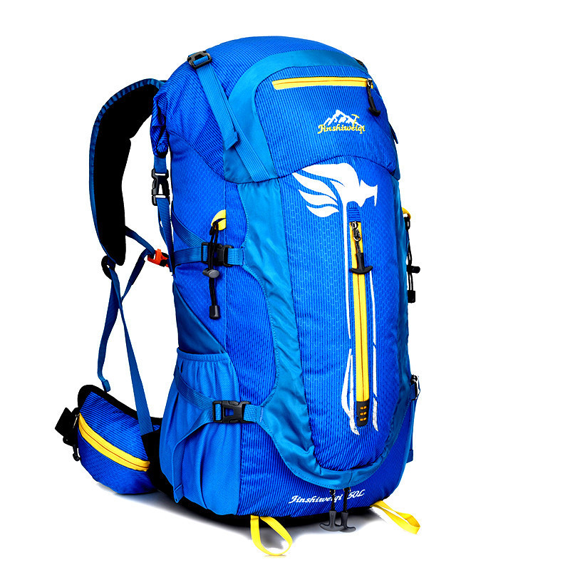 2017 Waterproof Outdoor Mountaineering Bag Backpack Women Men Couple Travel Hiking Camping Climbing Rucksack Sport Bags