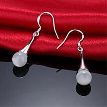 Модные изысканные серьги подвески из стерлингового серебра 925