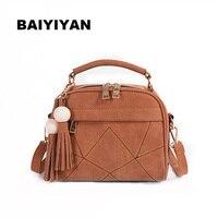 New Women Handbag Tassel Shoulder Bag Women S Messenger Bag Casual Female S Bag Artificial Leather