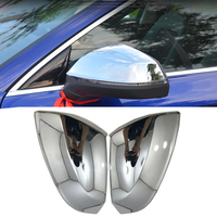 2018 For Audi Q5 Rearview mirror covers decoration Refit Chromium Styling chrome Exterior products 2018