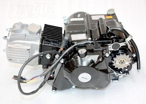 Lifan 125cc Kick Electric Start Semi Auto Engine Motor Pit Pro Trail
