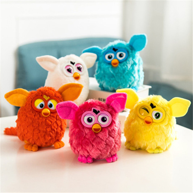 Electronic Interactive Toys Phoebe Firbi Pets Fuby Owl Elves Plush Recording Talking Smart Toy Gifts Furbiness boom Plush Toys