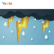 Yeele Photocall Lightning and Thunder Bad Weather Photography Backdrops Personalized Photographic Backgrounds For Photo Studio