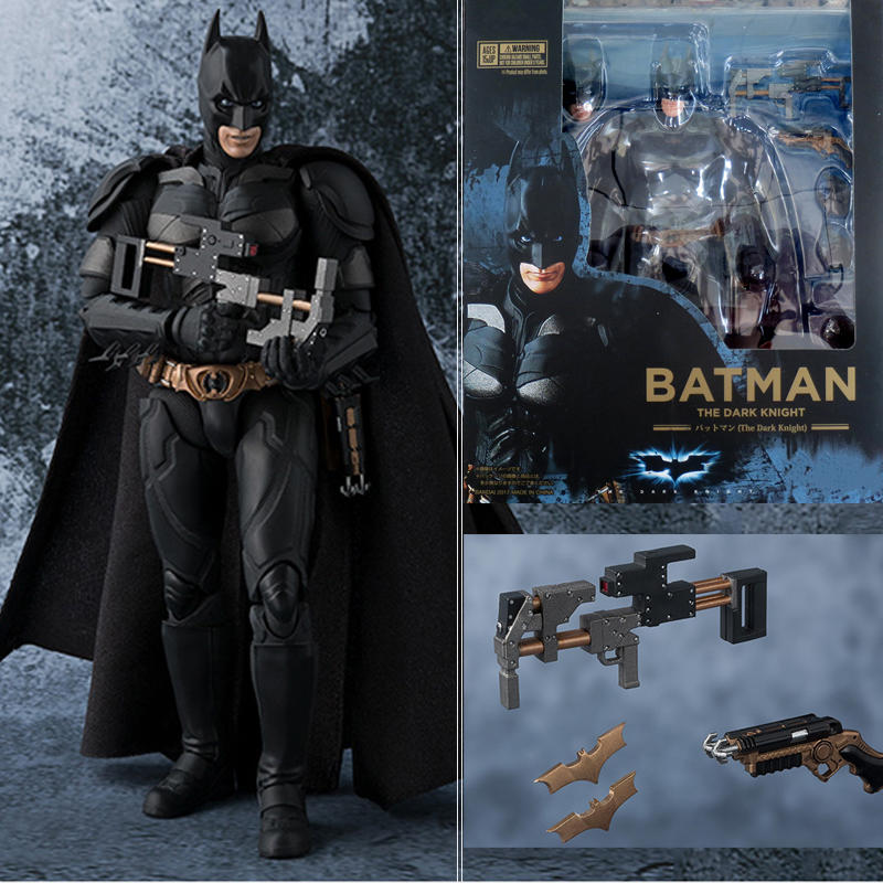 Batman Figures SHF The Dark Knight Batman PVC Action  Figures Collectable Model Toy For Kids patrulla canina with shield brinquedos 6pcs set 6cm patrulha canina patrol puppy dog pvc action figures juguetes kids hot toys