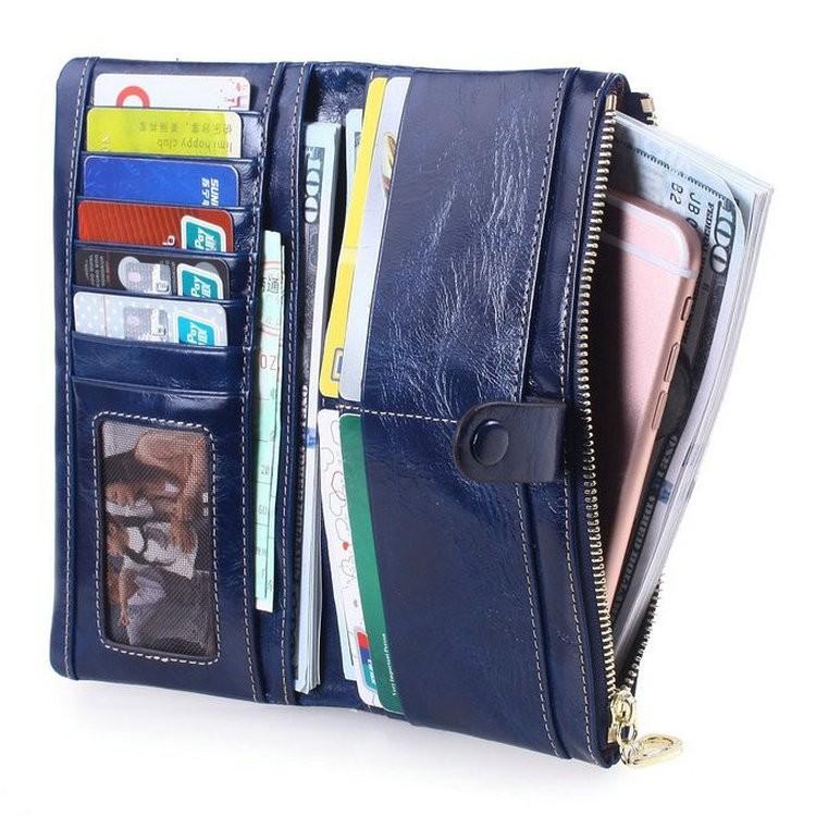women leather wallets purses