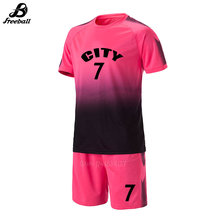 006965bb8 Survetement futebol kits 2017 2018 camisas de futebol da faculdade dos  homens de manga curta de futebol personalizado uniformes .