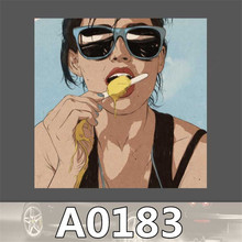 A0183 Spoof Anime Punk Cool Sticker for Car Laptop Luggage Fridge Skateboard Graffiti Notebook Scrapbook Scooter Stickers Toy