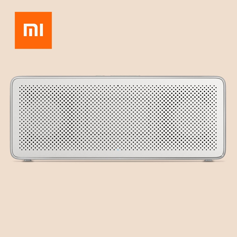Xiaomi Square Box Speaker 2 Portable Wireless Bluetooth Mini Handsfree Call USB Amplifier Stereo Sound Box Portable MP3 Player original xiaomi mi bluetooth speaker metal square box mini wireless stereo portable mp3 player handsfree bluetooth 4 0