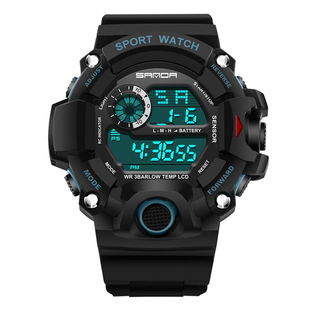 2017 MenTop Luksusowe cyfrowe zegarki Moda elektroniczny zegarek - Męskie zegarki - Zdjęcie 2