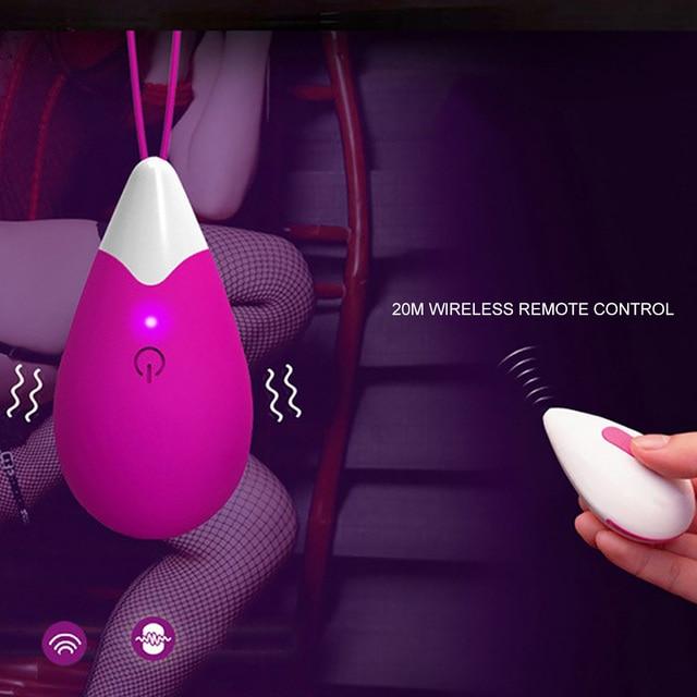 Wireless Remote Control Vibrator 8 Speeds Vagina Vibrating Egg G-spot Vibrator USB Charging Sex Toys for Women Toys for Adult 1
