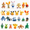 New 20pcs/lot  Mini Pikachu Mini Figure Action Figures Toys For Children Anime Pocket Monster Toys
