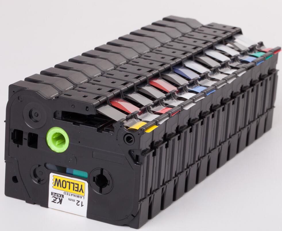 5pcs Tze631 Tze 631 12mm Tze Tz Tape Compatible Brother Ptouch Cartridge  Label Maker Tape Tz631 Tz 631 Tz 631 Black on Yellow-in Printer Ribbons  from