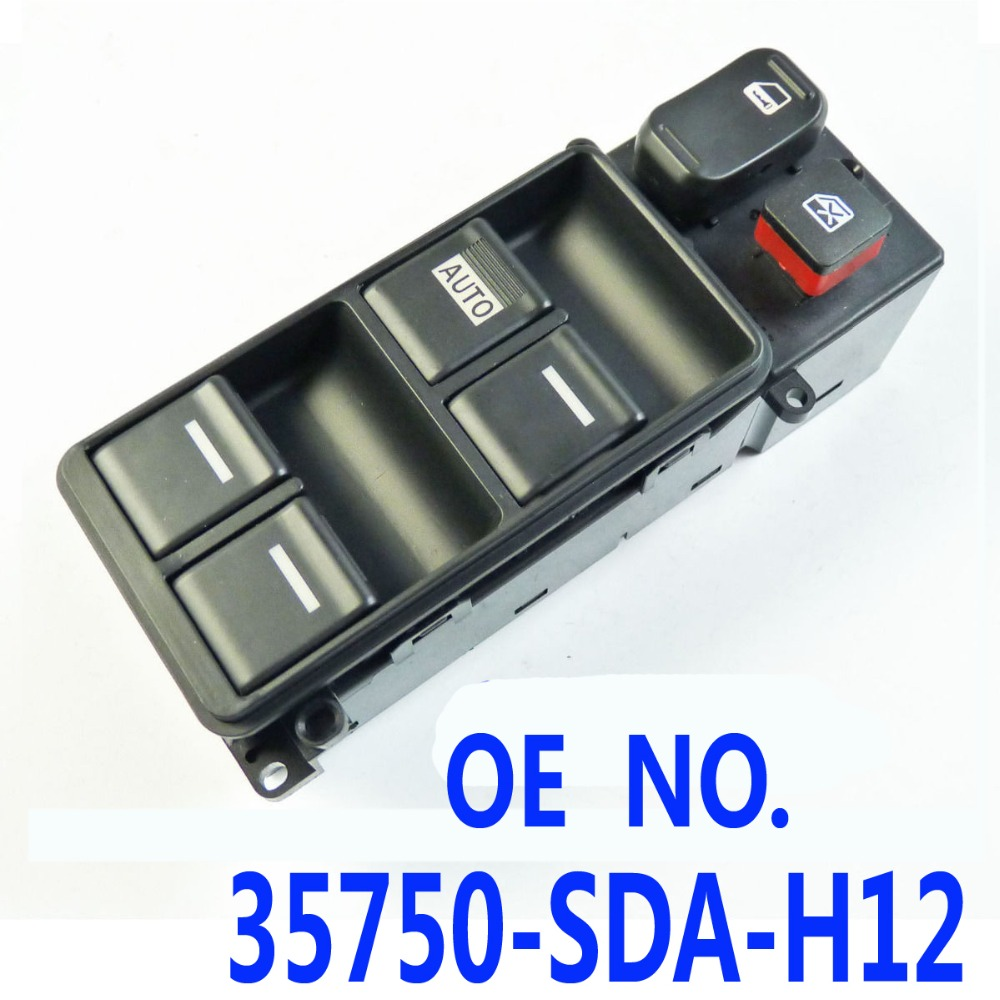Electric power window master control switch for honda for Window master