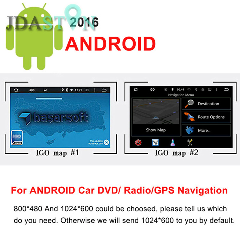 JDASTON 8GB SD Card Car GPS Navigation ANDROID Map for Italy France UK Netherland Spain Turkey