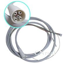 1 pc Dental Ultrasonic Scaler Handpiece Digital Cable Detachable Fit EMS Woodpecker UDS (N2 LED/ N3 LED/E/P/A/K) 2 sets epks woodpecker ems scaler tips periodontal debridement tips kit fit uds n2 n3 mectron and w