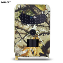 BOBLOV PR-100 Hunting Camera 12MP Photo Trap 1080P Video Wildlife Trail Cameras 940NM Night Vision Outdoor Waterproof IP56 12mp wildlife camera trail camera 2 6c 940nm black led invisible animal trap 1080p hunting camera