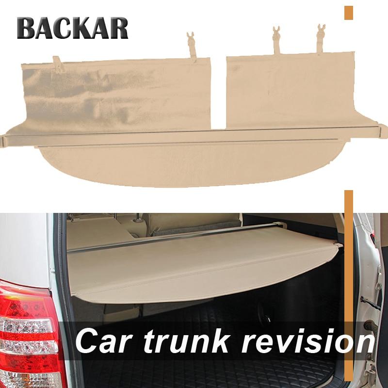 Backar 1 set pour Toyota Corolla Fielder 2012 2013 2014 voiture arrière coffre Cargo couverture noir sécurité bouclier ombre Auto accessoires