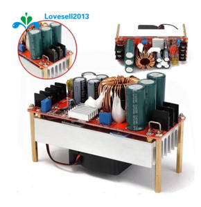 Image 1 - 1500 w 30a dc 부스트 컨버터 스텝 업 전원 공급 장치 모듈 in10 ~ 60 v 출력 12 ~ 90 v s