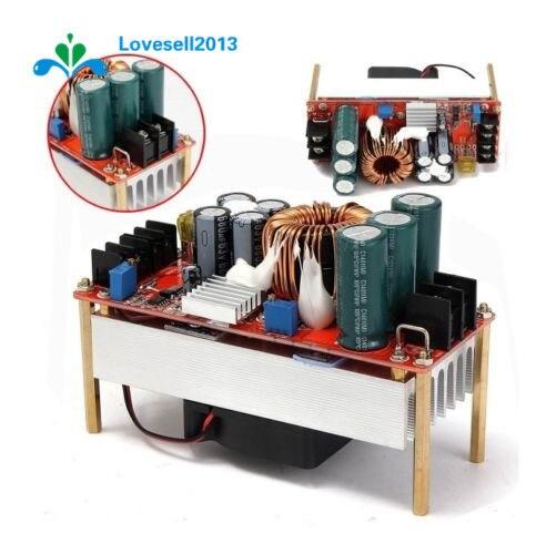 1500 w 30a dc 부스트 컨버터 스텝 업 전원 공급 장치 모듈 in10 ~ 60 v 출력 12 ~ 90 v s