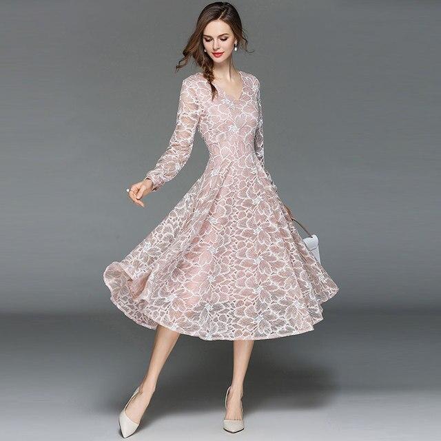 91ea18f67 فستان سهرة سمبل بأكمام طويلة جديد الأزياء الكورية موسم الخريف
