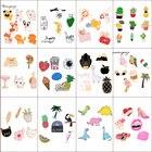 16 Styles Enamel Pin Colorful Carton Pins Set Badge Brooches Collar Badges