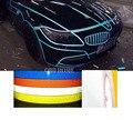 Стайлинга автомобилей 9 Метр DIY Светоотражающие Наклейки Автомобиль световой полосы автомобиль и мотоцикл Украшения Наклейки Виниловые Наклейки