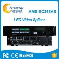 professional AMS SC368AS led splicing processor SDI vga video seamless switcher programmable led super TV controller