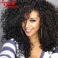 3B 3C Mongolian Kinky Curly Virgin Hair 3Pcs Mongolian Afro Kinky Curly Human Hair Weave Bundles 8A Rosa Queen Hair Products