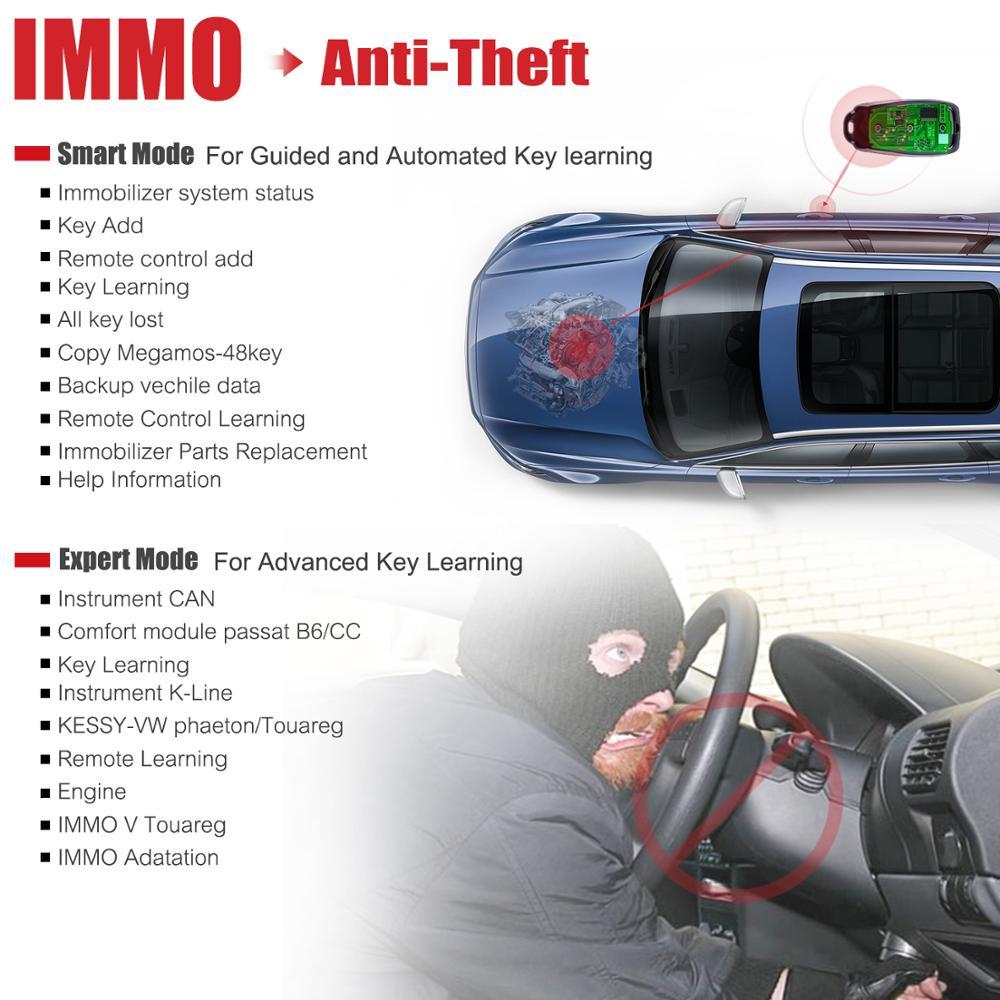 Autel IM608 XP400 Key Programmer Diagnostic auto diagnostic tool ECU programmer car diagnostic batter than launch x431 pro