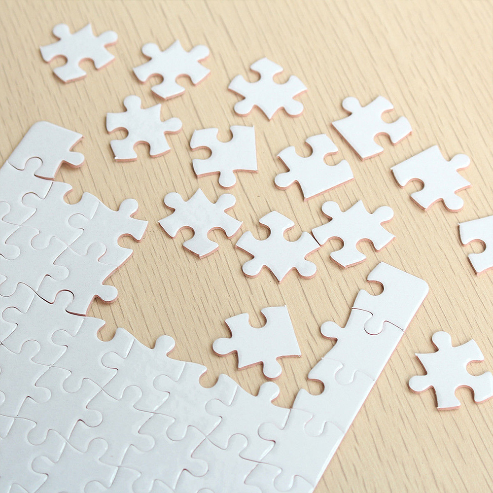 10 шт A5 Printable головоломка DIY термопрессах передачи сублимировать создать пустой сублимационной печати головоломки Бумага
