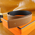 2017 llegada original de la marca de diseño de alta calidad de Cuero Genuino H cinturones con hebilla ceinture starps con tarjeta + caja
