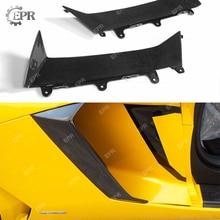 Carbon Side Vent Cover For LAMBORGHINI Aventador LP700 DMC Style Carbon Fiber Side Air Intake Duct Cover Extension Body kit Trim стоимость