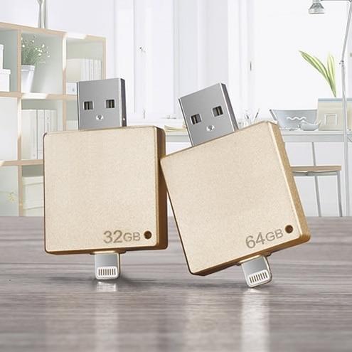 8 gb 16 gb 32 gb 64 gb otg usb 2.0 flash drive usb para iphone ipad ipod, Teléfono móvil Tablet PC Pen Drive OTG relámpago USB Pendrive