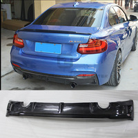 F22 M235 Carbon Fiber Car Rear bumper diffuser lip for BMW F22 M235i car body kit 14 18