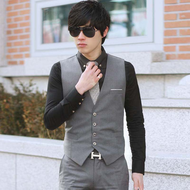 Casual-Slim-Suits-Vests-Mens-Waistcoats-Fitted-Colete-Sleeveless-Jacket-Formal-Dressed-Wedding-Blazer-Vest-Brand (3)