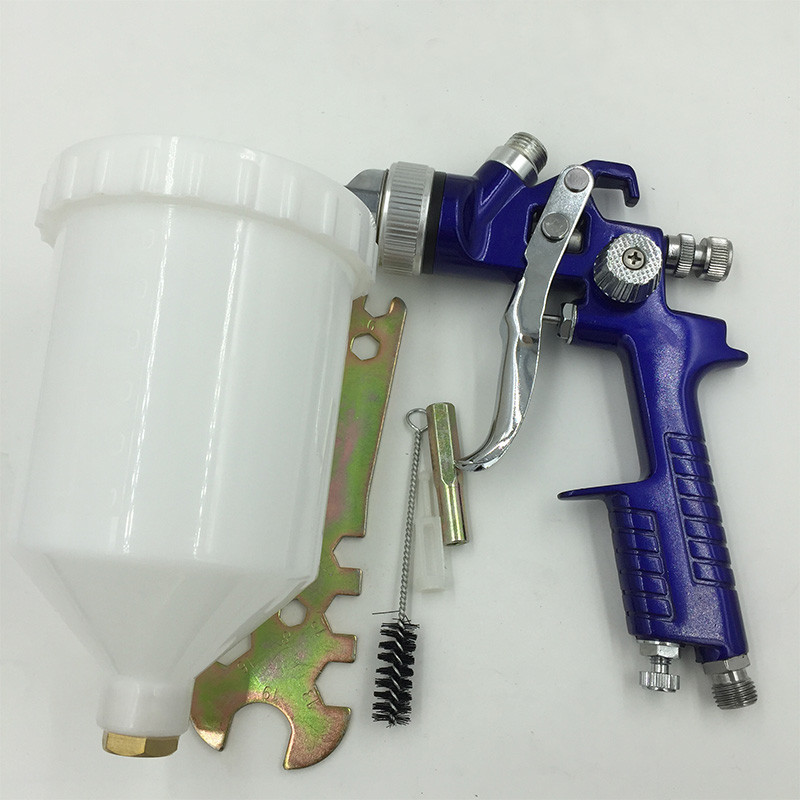 capacidad de 600 ml pistola de aerosol de 1,7 mm de acero para pintura de veh/ículos H-827 pistola de pulverizaci/ón pintura de autos pistola de aer/ógrafo profesional para muebles