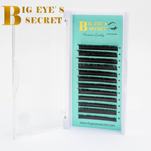 BES All Size C/D/CC/DD/L Curl 1 Trays Individual Eyelashes Natural Mink Extension Artificial Fake False
