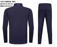 новый настоящее для мужчин с длинным рукавом костюм дети survete для мужчин Т 2017 для Дома Прочее футбол свитер с брюки для девочек