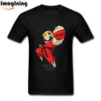 Super Mario Brothers Ken Street Fighter Photo Print Tee Shirt 2XL Men S Branded Graphic T