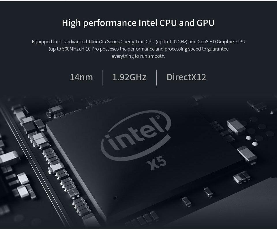 CHUWI Official! 10.1 Inch CHUWI Hi10 Pro Tablet PC Windows10 & Android 5.1 Dual OS Intel ATOM Z8350 Quad Core 4GB RAM 64GB ROM