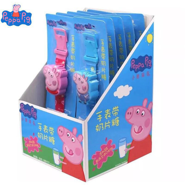Genuine Peppa Pig Peppa George with Candy watch collection toy kids ...