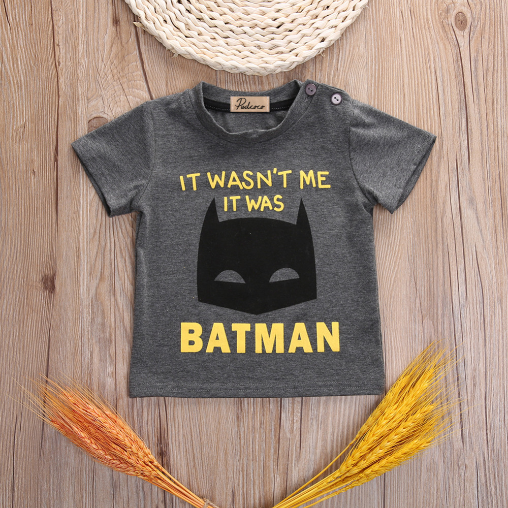 2016-New-Baby-Boys-Clothes-Fashion-Cool-Batman-Kids-Short-Sleeve-Summer-T-Shirt-2