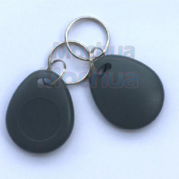 5PCS Amtel T5577 Key Fob 125Khz Rewritable RFID Proximity ID Token