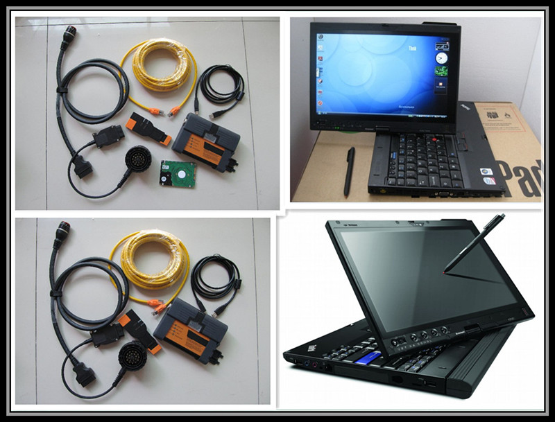 for bmw icom a2 b c with software laptop x200t 4g hdd 500gb expert mode full set diagnositc programming tool 3in1 best price